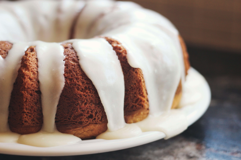 Lemon Olive Oil Bundt Cake